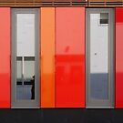 Het 4e Gymnasium - wood, wall panels, windows (2) by Marjolein Katsma