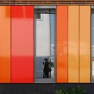 Het 4e Gymnasium - wood, wall panels, windows (3) by Marjolein Katsma
