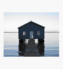 Crawley Boatshed Photographic Print