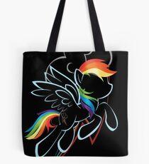Rainbow Dash Contour Tote Bag