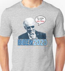 Biden 2020 - Ich komme für Sie, Baby Hands Unisex T-Shirt