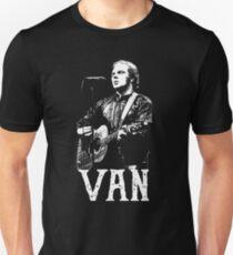 Camiseta ajustada Van - Plantilla Blanca