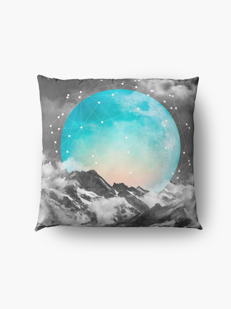 Alternate view of It Seemed To Chase the Darkness Away Floor Pillow