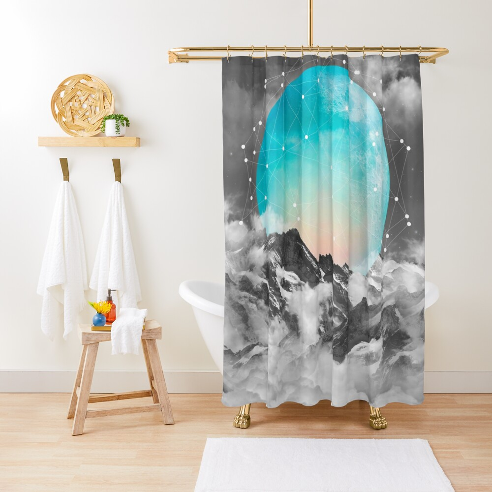 It Seemed To Chase the Darkness Away Shower Curtain