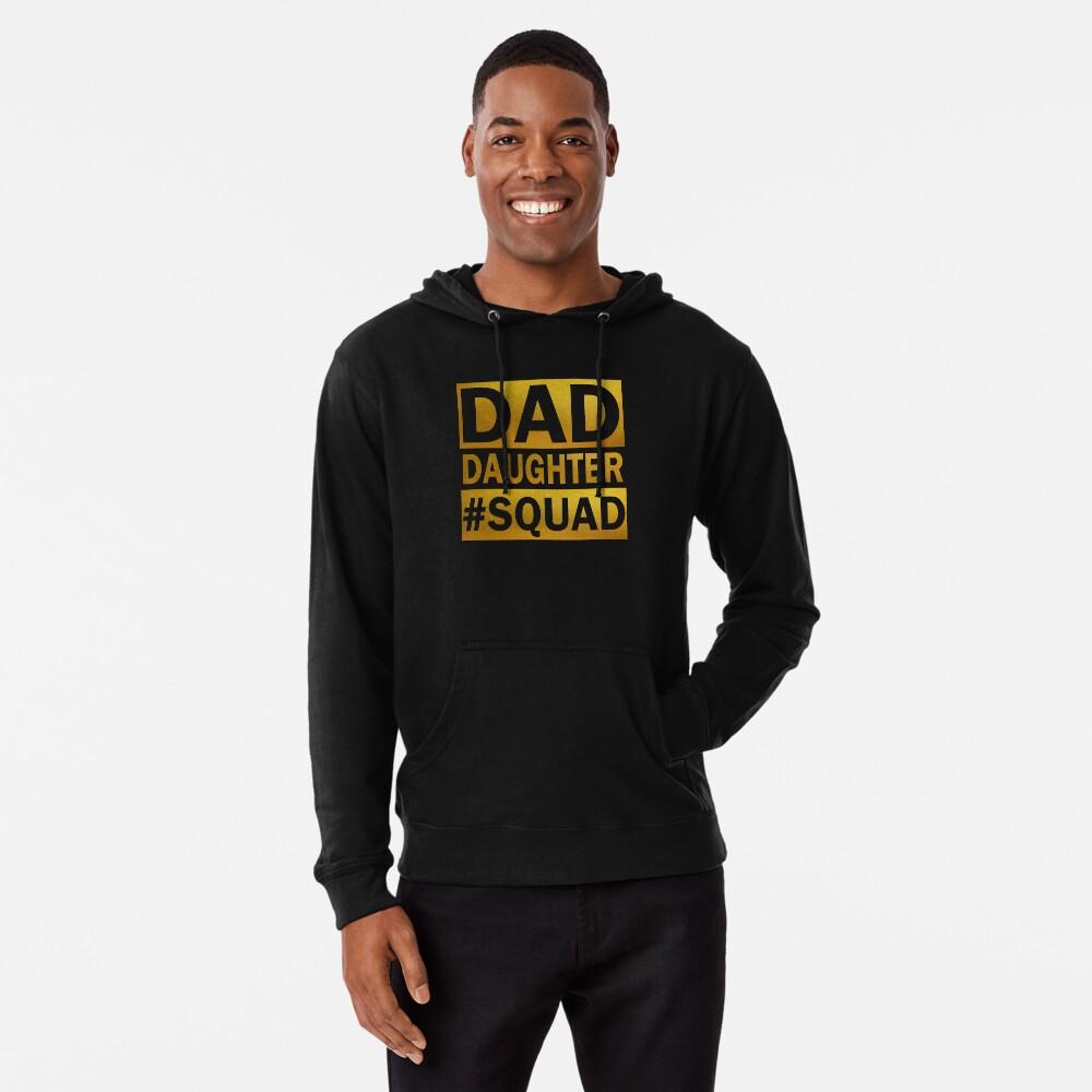 Dad Daughter Squad Lightweight Hoodie