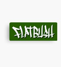 FLATBUSH Canvas Print