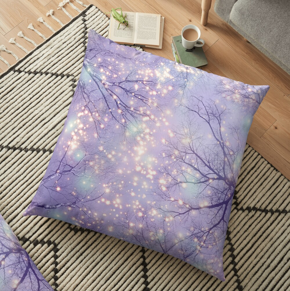 Each Moment of the Year Floor Pillow