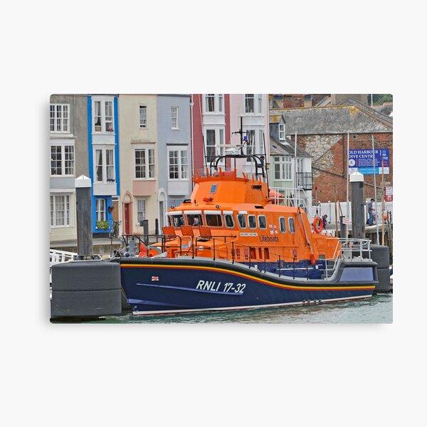 RNLI Boat Canvas Print