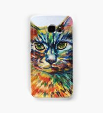 Cat- A- Tude Samsung Galaxy Case/Skin