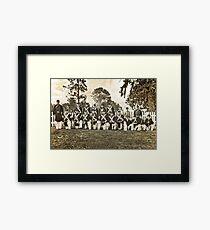 Tahoma Marine Guard Framed Print