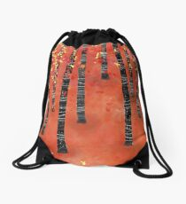 Birches Drawstring Bag