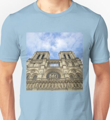 In Homage of the Notre-Dame Cathedral in Paris - LOVE wins in the end! T-Shirt