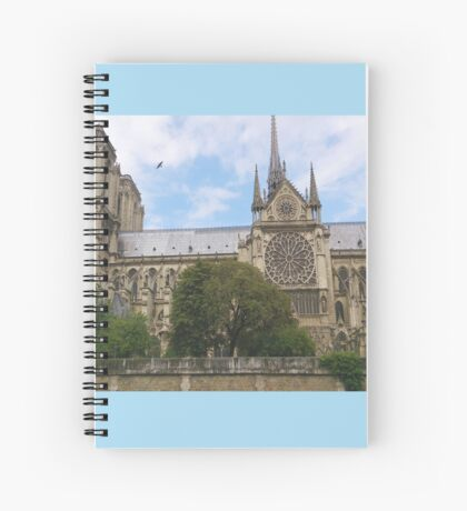 In Homage of Paris Notre-Dame Cathedral - LOVE wins in the end! Spiral Notebook