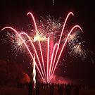 Firework Display by Peter Barrett