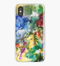 Abstract Horses iPhone Case/Skin