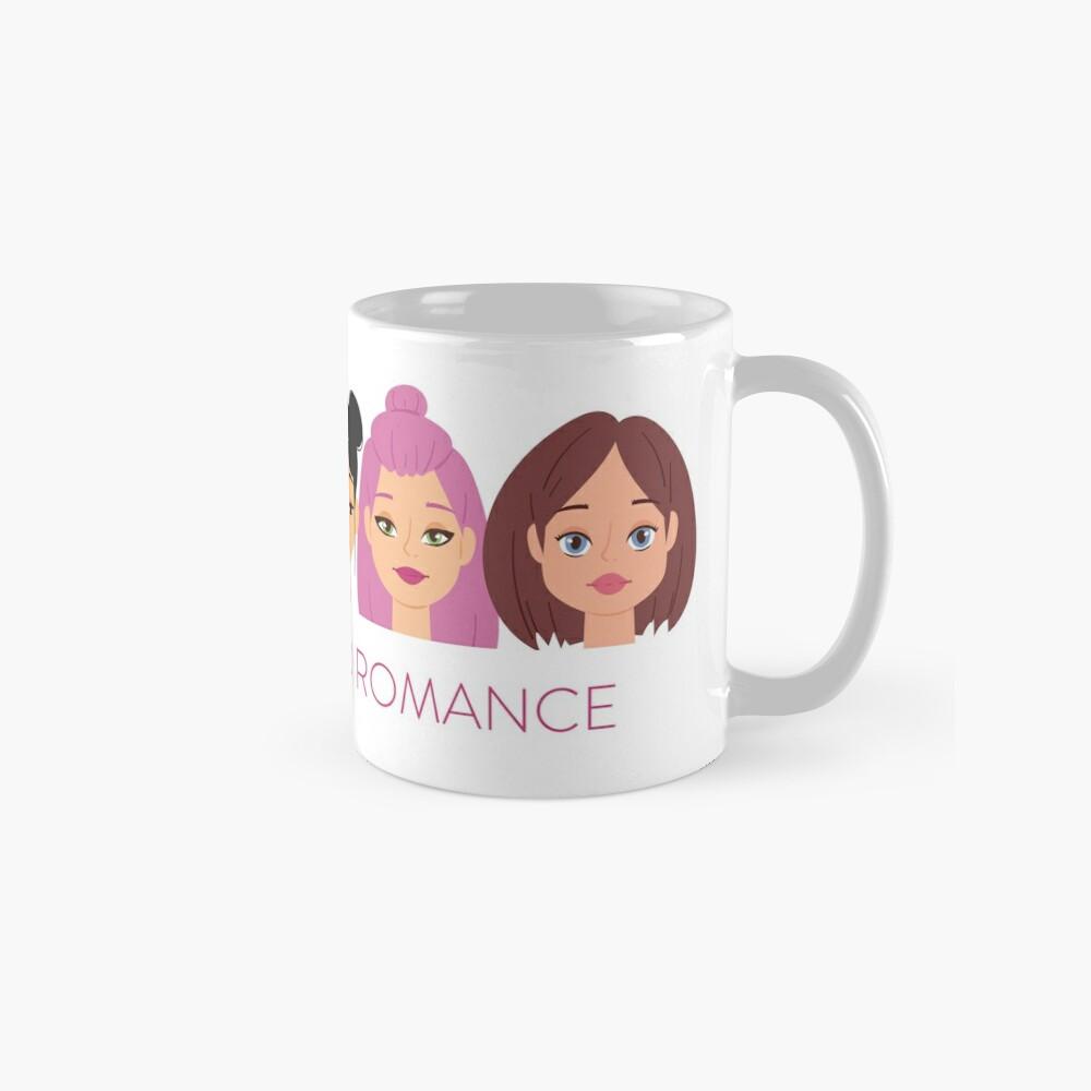 Smart Girls Read Romance Classic Mug