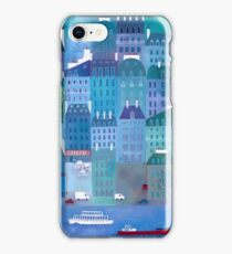 Paris Blues iPhone Case/Skin