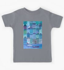 Paris Blues Kids Tee