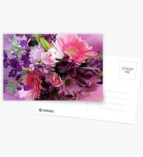 A Passion for Pink and Purple Postcards