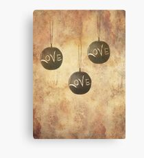It´s Raining Love Canvas Print