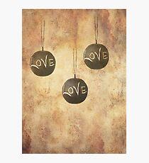 It´s Raining Love Photographic Print