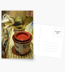 Paint Pots Postcards