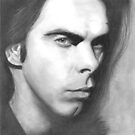 Nick Cave by Paul Starkey
