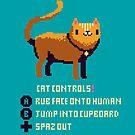 Katze steuert von louros