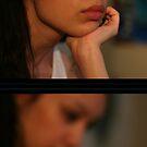 Self Portrait III - Watching by Rebecca Tun