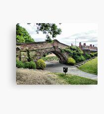 Dell Bridge . Canvas Print