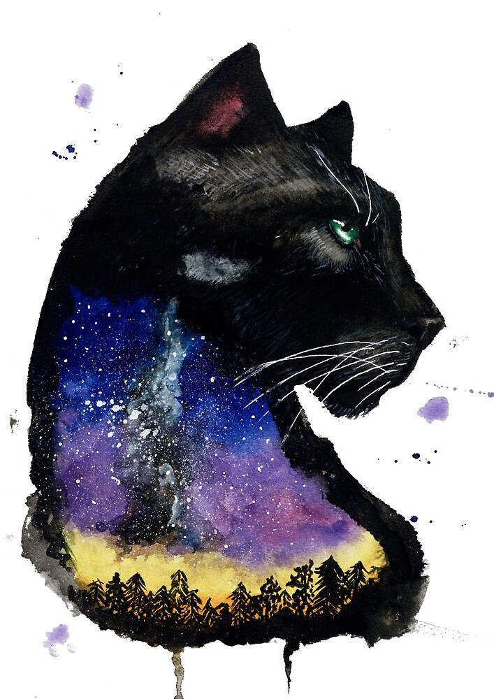 Galaxy Panther by creaturesofnat