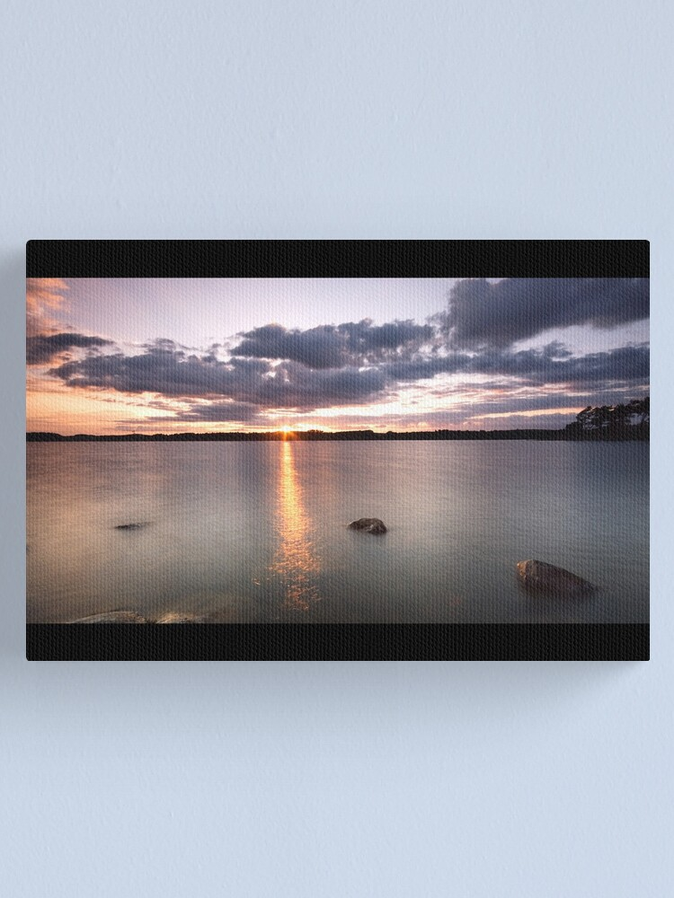 Alternate view of The end Canvas Print