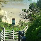 Schritte entlang der Great Ocean Road, Vic, zum Strand. Australien von EdsMum