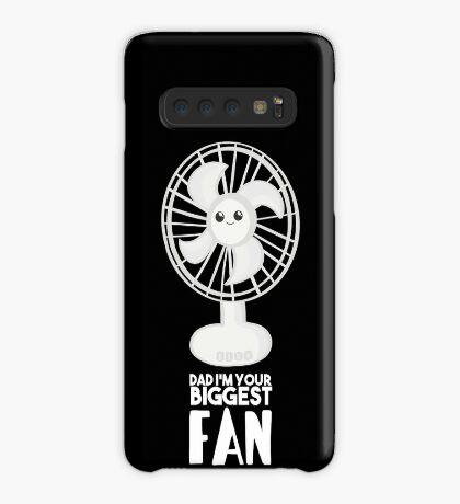 Funny Fathers Day Shirt - Dad I'm your Biggest Fan  - Birthdaay Case/Skin for Samsung Galaxy