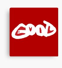 GOOD EVIL Canvas Print