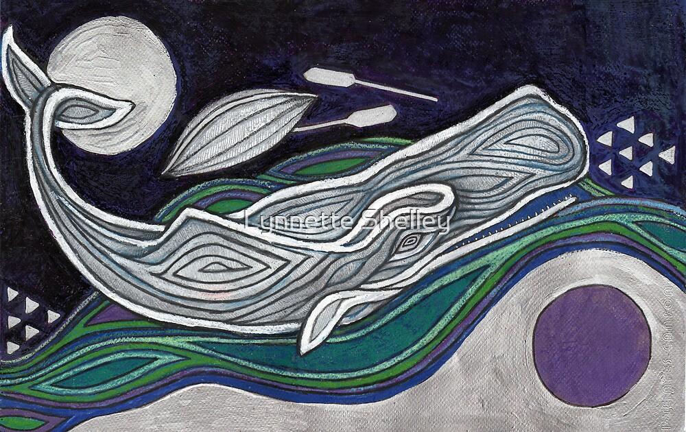 The Dark Salt Sea (Moby Dick) by Lynnette Shelley