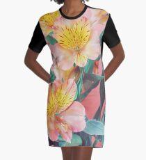 Bouquet de printemps Robe t-shirt