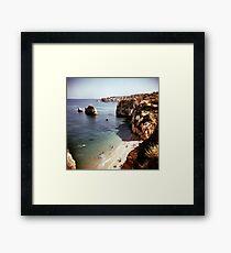 Lagos beach Framed Print