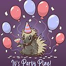 Its Party Pine Porcupine by TechraNova