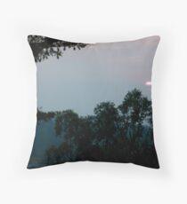 Rwandan Sunset Throw Pillow