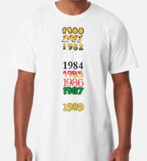 Copy of Copy of Born In The Eighties Longshirt