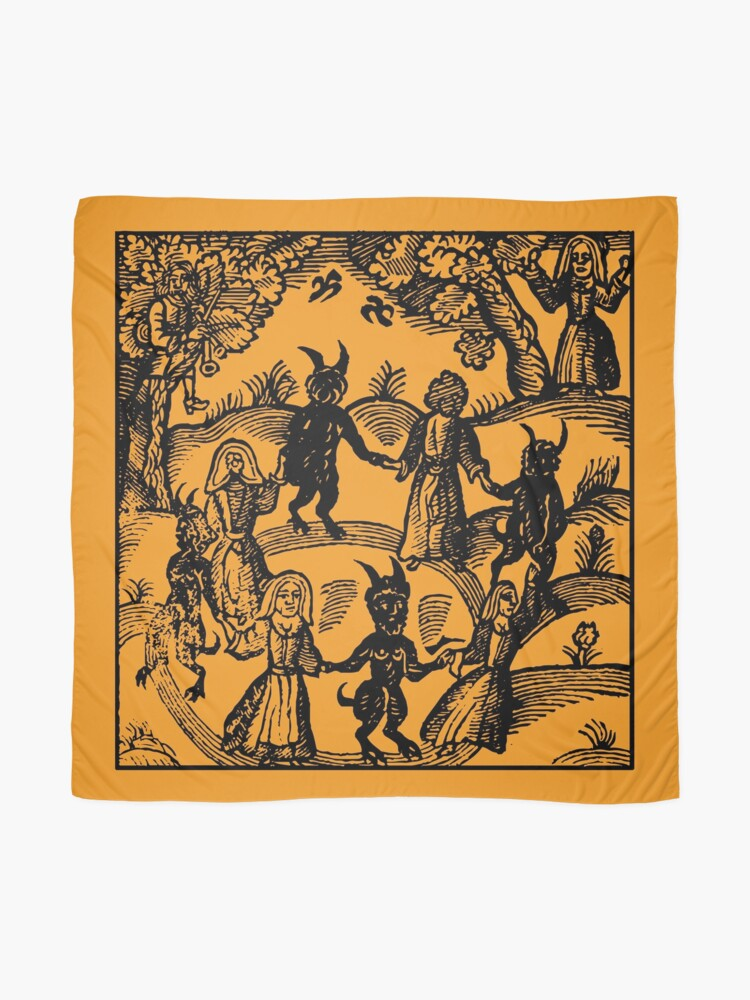 Alternate view of Dance with the Devil  Scarf
