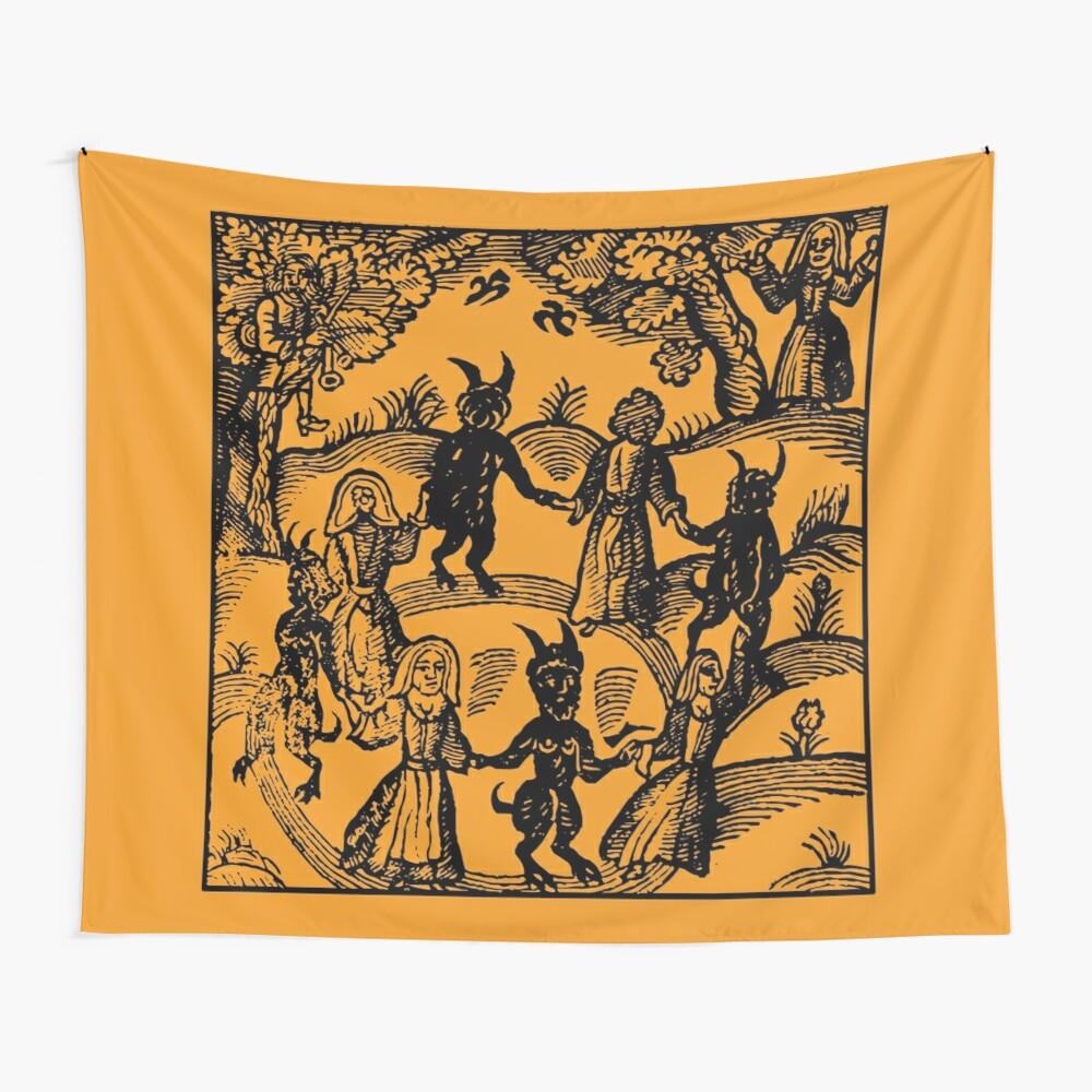 Dance with the Devil  Wall Tapestry