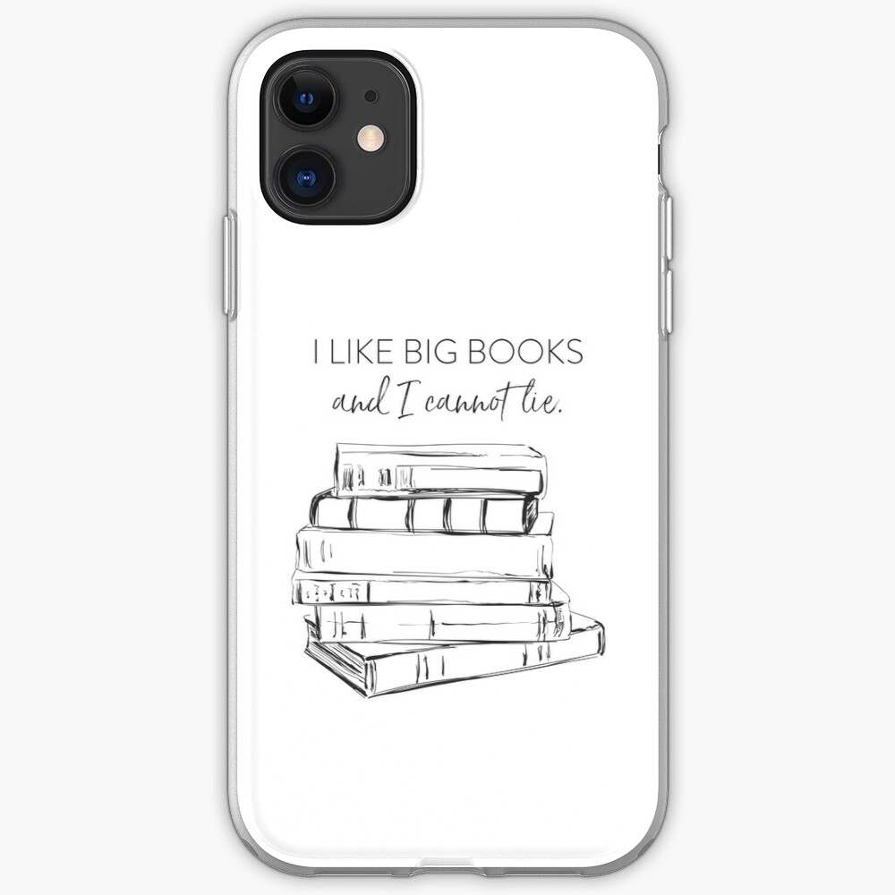 I Like Big Books iPhone Soft Case