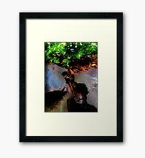 elves Framed Print