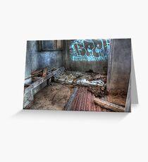As I Lay Me Down To Sleep....Abandoned Mental Asylum, Wacol Brisbane, Greeting Card