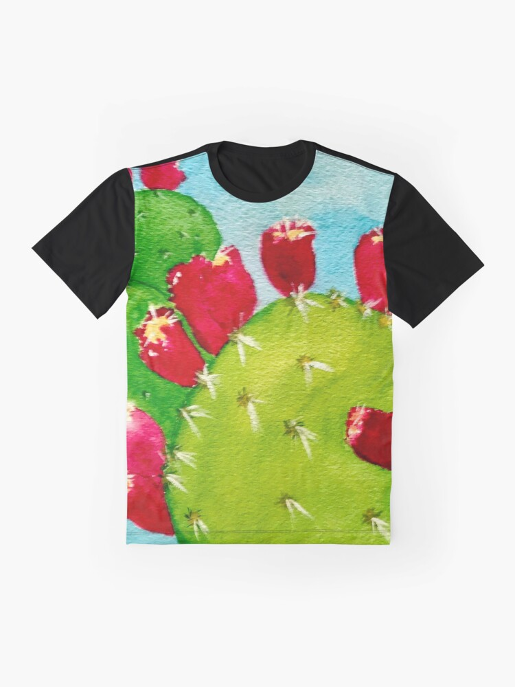 Alternate view of Prickly Pear  Graphic T-Shirt
