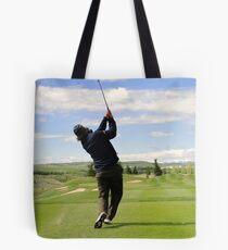 Golf Swing E Tote Bag