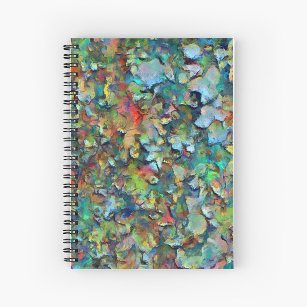 Decorative products ,digital painting. Spiral Notebook