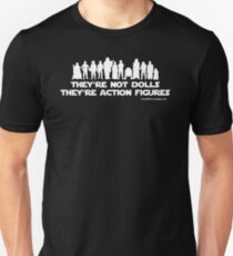 They're Not Dolls (White Ink) T-Shirt